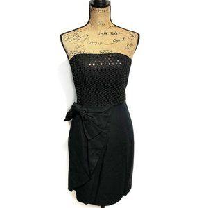 Lilly Pulitzer Dress Strapless Black Size 4
